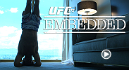 On episode 5, the stars of UFC 175, Ronda Rousey, Alexis Davis, Chris Weidman and Lyoto Machida, make their final preparations for Friday's weigh-in. Then they return to their rooms for showers, sweats, headstands and soccer.