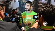 """El mexicano Juan """"Fenix"""" Puig debutó con una derrota en UFC y habló para La Afición sobre su experiencia y cómo se sinti&oacu"""