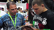 Check out some highlights from the 2014 UFC fan expo during International Fight Week in Las Vegas.