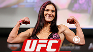 UFC No 1-ranked women's bantamweight Cat Zingano competed during the UFC Fan Expo in Las Vegas in the Grapplers Quest competition and pulled off a sick flying armbar.