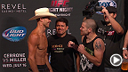 Watch the official weigh-in for UFC Fight Night: Cerrone vs. Miller, live Tuesday, July 15 at 4pm/1pm ETPT.