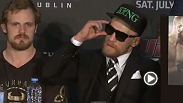Watch the Fight Night Dublin: McGregor vs. Brandao post-fight press conference.