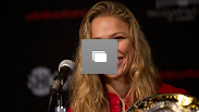 Check out photos from bantamweight Ronda Rousey's four title defenses.