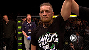 Conor McGregor reflects on his first-round win over Diego Brandao in front of his hometown of Dublin, Ireland.