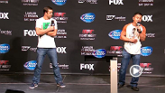 Watch the UFC Fight Club Q&A with middleweights Luke Rockhold and Cung Le.