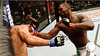 "Anthony ""Rumble"" Johnson won in impressive fashion at Fight Night San Jose. hear him speak to Joe Rogan afterwards."