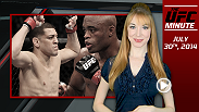 Welcome to the first installment of the UFC Minute! Host Lisa Foiles reviews some of the UFC's biggest stories and looks ahead at what is in store for the rest of the day.