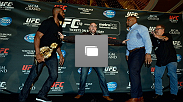UFC 178 media day on Monday, August 4, 2014 at the MGM Grand in Las Vegas, Nevada. (Photo by Jeff Bottari/Zuffa LLC/Zuffa LLC via Getty Images)