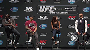 The UFC hosts a Q&A for fans and media with Jon Jones, Daniel Cormier, Conor McGregor, and Dustin Poirier at Club Nokia in Los Angeles, California on Tuesday, August 5, 2014 at midnight BST.
