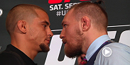 UFC 178 opponents and top ten lightweights Conor McGregor and Dustin Poirier talk the talk before taking the Octagon on September 27 in Las Vegas.
