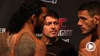 Voyez la pesée officielle de l'événement UFC Fight Night : Henderson vs Dos Anjos.