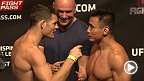 Watch the official weigh-in for UFC Fight Night Macao: Bisping vs. Le.