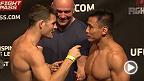 Voyez la pesée officielle de l'UFC Fight Night : Bisping vs Le en direct le vendredi 22 août à 10:00 HEC.