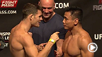 Watch the official weigh-in for UFC Fight Night: Bisping vs. Le, live Friday, August 22, 2014 at 10am CET.
