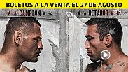 El campeón peso completo del UFC Cain Velasquez defenderá su título frente al contendiente número uno Fabricio Werdum en la Ciudad de México el 15 de Noviembre.