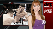 UFC Minute host Lisa Foiles runs down all the need-to-know news for today, Thursday, August 7.