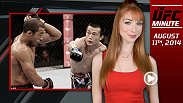 UFC host Lisa Foiles runs down all of the need-to-know news from this weekend and what to expect today, Monday, August 11.