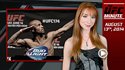 UFC Minute host Lisa Foiles runs down all of the need-to-know news for Wednesday, August 13, including changes to the UFC 178 main event, updates for UFC 177, and featured content on UFC.com.
