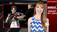 UFC Minute host Lisa Foiles runs down all of the need-to-know news for Thursday, August 14.