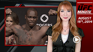 UFC Minute host Lisa Foiles runs down all of the need-to-know news for August 15, including UFC 178's new main event, what to watch for in today's weigh-in, and information on the Dana Download.