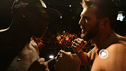 Fight Night Bangor headliners Ovince Saint Preux and Ryan Bader, and co-main event fighters Gray Maynard and Ross Pearson hit the scale Friday before taking the Octagon in Bangor on Saturday night.