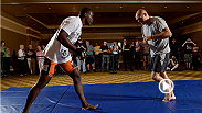 We escape from the daily grind of the gym with Ovince Saint Preux to the University of Tennessee football complex, where he shows us where he played college football and how he has adapted what he learned there to his career in the UFC.