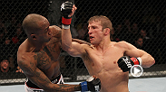 Looking to get his first win inside the Octagon, T.J. Dillashaw shows off his relentless ground game against Walel Watson in Omaha, Nebraska. Watch the current bantamweight champ take on former champ Renan Barao at UFC 177 in Sacramento, California.