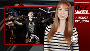 UFC Minute host Lisa Foiles runs down all of the need to know news from Tuesday, August 19, including updated rankings, Fight Night Macao, and free fights on UFC.com!