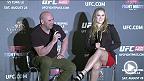 UFCプレジデントのデイナ・ホワイトと女子バンタム級王者のロンダ・ラウジーがマカオのファン達のからの質問に答える。