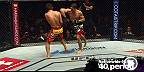Técnica da Semana; após John Hathaway errrar sua cotovelada, Dong Hyun Kim desferiu a sua (só que giratória) para nocautear de forma devastadora.