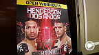 Benson Henderson and Rafael dos Anjos hit the mat Thursday during the Fight Night Tulsa open workout ahead of their main event bout Saturday night. Also see Jordan Mein and Mike Pyle.
