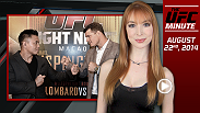 From weigh-ins to Fight Night predictions, the UFC Minute gets you up to date on everything you missed yesterday and everything to look forward to today in UFC news.