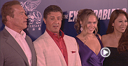 "UFC.com's Megan Olivi spent the day with Ronda Rousey as she made her way to the special screening of ""Expendables 3"" in Macao, China."