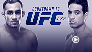 UFC Countdown takes you behind the scenes before UFC 177 in Sacramento. Sacramento's own Danny Castillo takes on Ultimate Fighter winner Tony Ferguson in a war between two lightweights both hitting their primes.