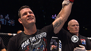Michael Bisping revels in his main event performance with commentator Kenny Florian and calls out fellow middleweight Luke Rockhold.