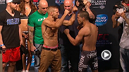 Watch the official weigh-in for UFC 177: Dillashaw vs. Barao II, live Friday, August 29 at midnight BST.