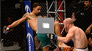 Photos from the opening bout on this season of The Ultimate Fighter Latin America, featuring Jose Quinonez and Bentley Syler.