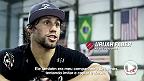 Companheiro de treino do campeão na academia Alpha Male, o americano diz que Renan Barão vai sentir o corte de peso e será nocauteado no quarto round.