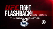 Renan Barao vs. T.J. Dillashaw at UFC 173 went down as one of the biggest upsets in company history. Watch Fight Flashback on Aug. 28 at 7pm/4pm ETPT on Fox Sports 1 to relive the fight.