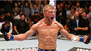 UFC bantamweight champion T.J. Dillashaw and Team Alpha Male teammates Chad Mendes and Urijah Faber reflect on Dillashaw's first day at the acclaimed MMA gym.