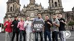 Los peleadores de la cartelera estelar de UFC 180 participan en diferentes actividades con los medios, la prensa y ellos mismos para promocionar UFC 180 el 15 de NOviembre en la Ciudad de México.