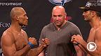 Assista à pesagem do UFC Fight Night: Jacare vs. Mousasiao vivo na quinta, 4 de setembro, às 19h.