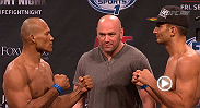 Watch the official weigh-in for UFC Fight Night: Jacare vs. Mousasi.