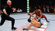 No. 7 ranked bantamweight Iuri Alcantara uses his powerful left hand, followed by ground and pound to knock out Vaughan Lee. Watch Iuri take on Russell Doane at UFC Fight Night Brasilia.