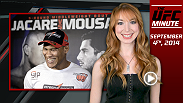 "Find out the latest on today's Fight Night Foxwoods weigh-in and Michelle ""The Karate Hottie"" Waterson's debut on UFC FIGHT PASS this weekend!"
