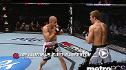 In this MetroPCS Move of the Week; Joe Lauzon drops Curt Warburton with a series of punches, and finishes the fight with a first round submission.