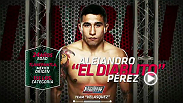 "Meet Team Velasquez's Alejandro ""El Diablito"" Perez. The bantamweight reveals what motivates him as a fighter and the dedication it takes to become successful in mixed martial arts."