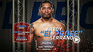 Team Werdum bantamweight Fredy Serrano discusses how his Olympic background impacts his skills as a fighter and how being on The Ultimate Fighter is a dream come true. Watch Fredy take the Octagon in an all-new episode tomorrow on UFC FIGHT PASS.