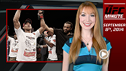 A recap of this weekend's event and find out about some exciting bouts added to the November 7th and 8th Fight Night cards in Sydney and Brasilia in today's UFC Minute!