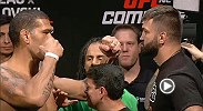 Watch the official weigh-in for UFC Fight Night: Bigfoot vs. Arlovski.